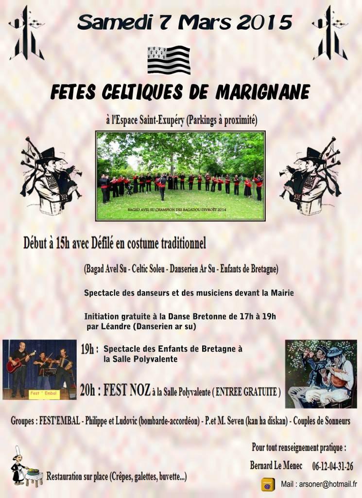 L'AEB aux fêtes celtiques de Marignane le 7 Mars 2015