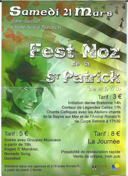 Fest Noz 21mars2015 foyer du Marin