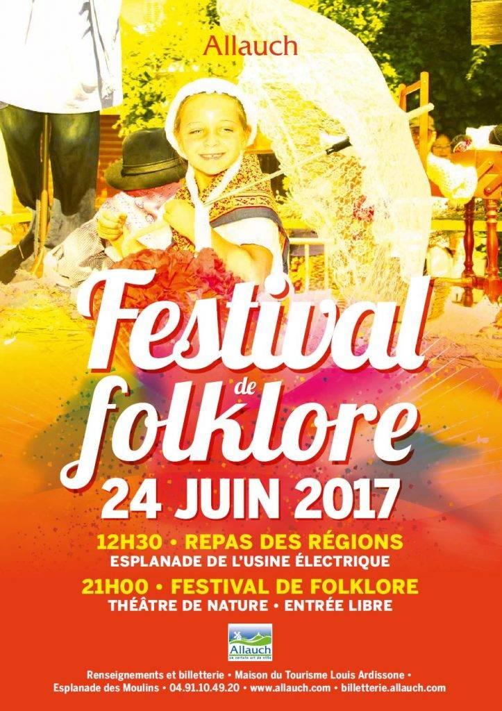 Festival du Folklore Allauch 24 juin 2017